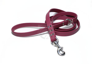 Wine Merlot Biothane Large Dog Leash