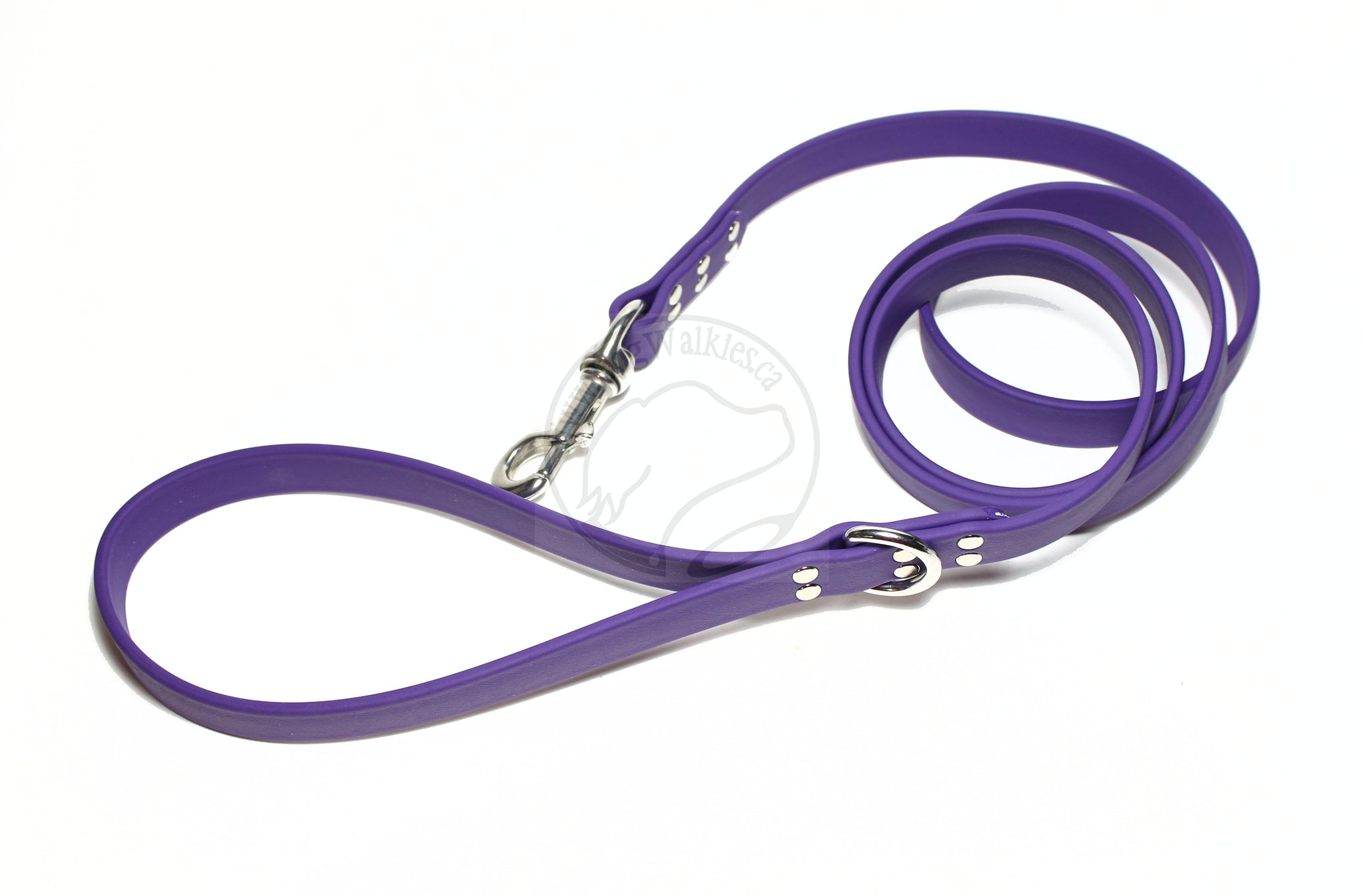 Royal Purple Biothane Large Dog Leash