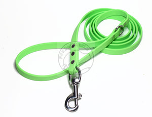 Lime Green Biothane Dog Leash
