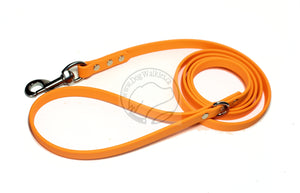 *NEW* Pumpkin Orange Biothane Dog Leash