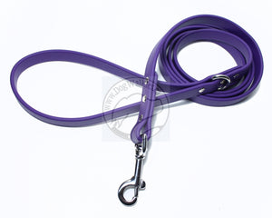 Royal Purple Biothane Dog Leash