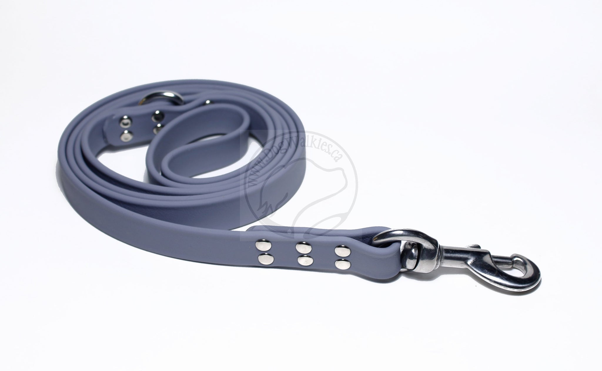 Stormy Grey Biothane Large Dog Leash