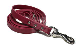 Wine Merlot Biothane Dog Leash