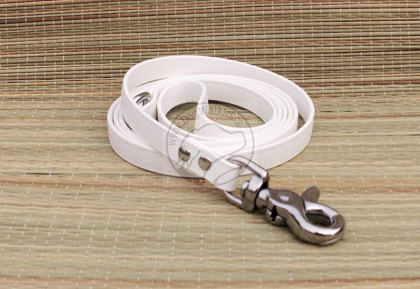 Snow White Small Dog Leash