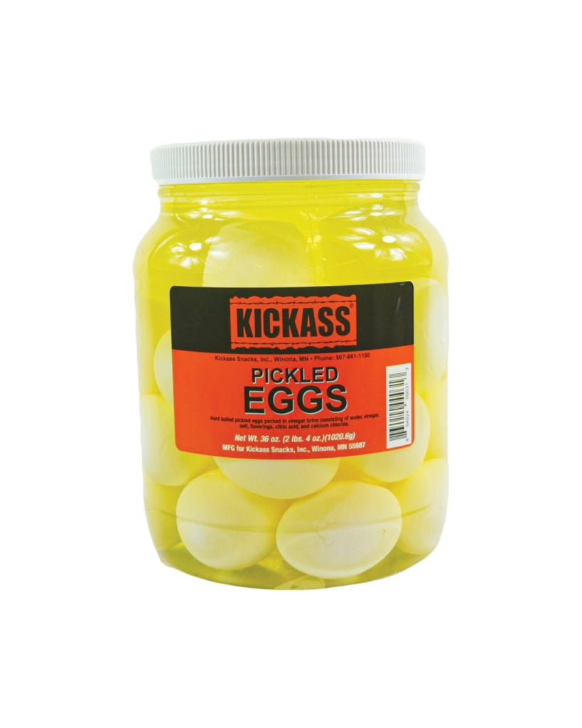 Kickass Pickled Eggs - 2 Pack 1/2 Gallon