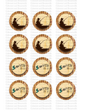 Tom Sawyer Printable Cupcake Toppers or Table Confetti (instant download)