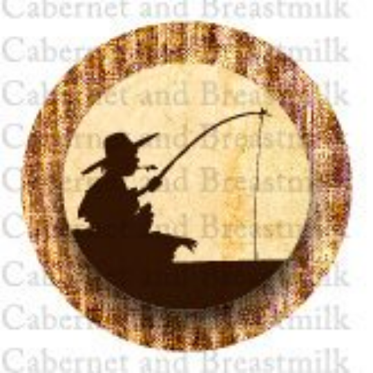 Huck Finn Printable Cupcake Topper or Table Confetti (digital file)