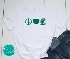Peace Love and Leeds tee