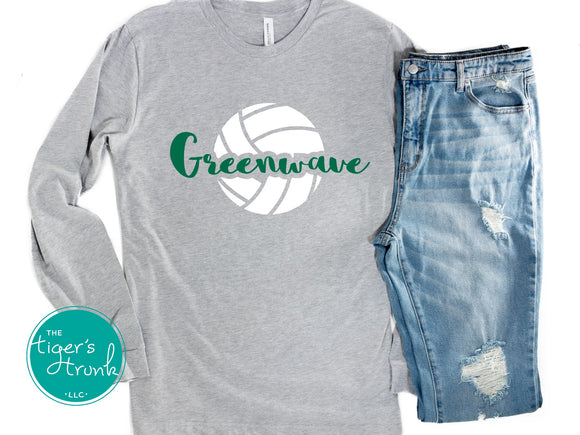 Leeds Greenwave Volleyball shirt