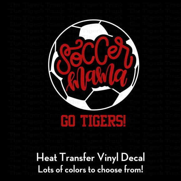 Soccer Mama Decal (DIY Heat Transfer Vinyl)