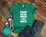 Fight for the Green and White Leeds tee