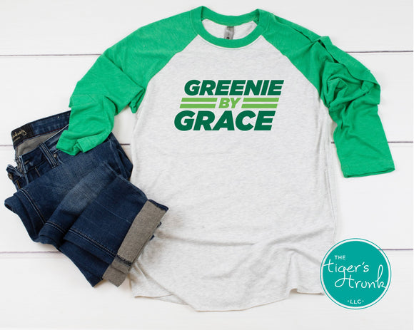 Greenie By Grace Leeds raglan shirt