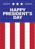 Happy President's Day printable card
