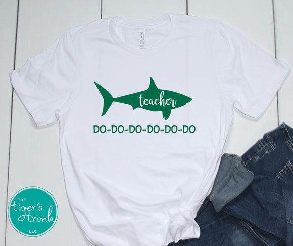 Leeds Teacher Shark tee