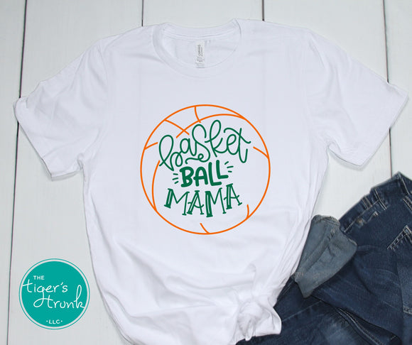 Leeds Basketball Mom tee