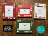 Believe Christas photo frames