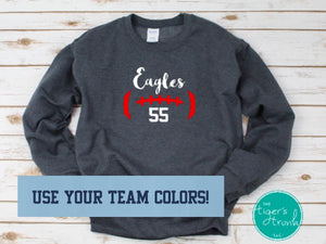 Football Mascot sweatshirt