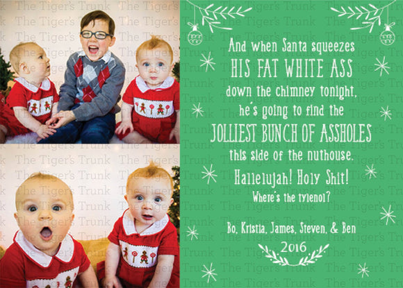 Personalized Printable Christmas Cards - Christmas Vacation
