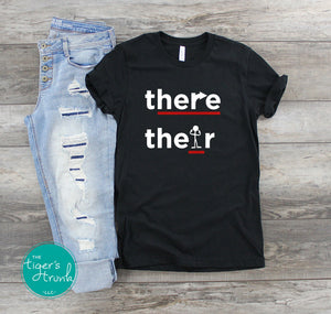 There, Their Grammar shirts