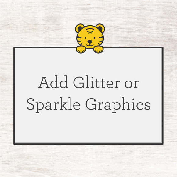 Glitter or Sparkle Add-On for Your Design
