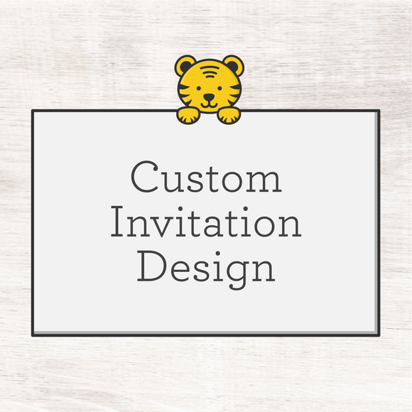 Custom Invitation (digital file)