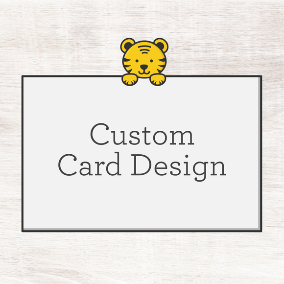 Custom Greeting Card (digital file)