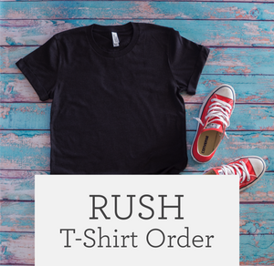 Rush Order (for T-shirts or Bags only)