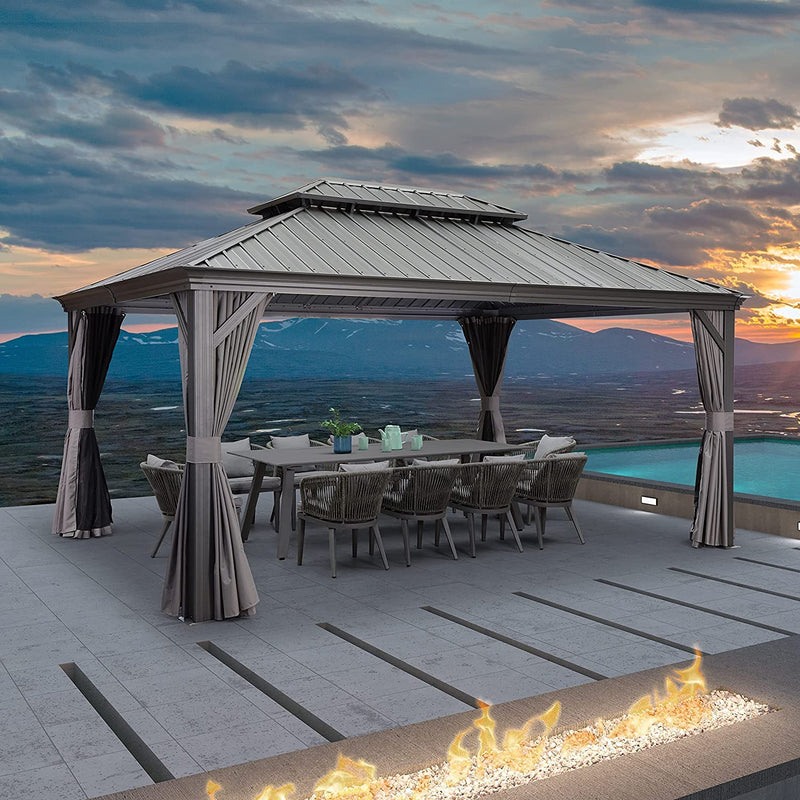 Round Cantilever Patio Umbrella