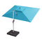 Rectangle Cantilever Patio Umbrella Outdoor Umbrella with 360 Degree Rotation