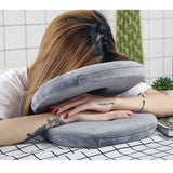 Dropshipping Best Option In Travel 5 Modes Neck Support Pillow Multifunctional Folding Travel Pillow for Sleeping Neck Pillows