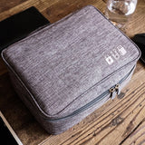 RHXFXTL travel Organiser Bag Portable Digital package Electronics Chargers Data line sort package Travel accessories Bags Case