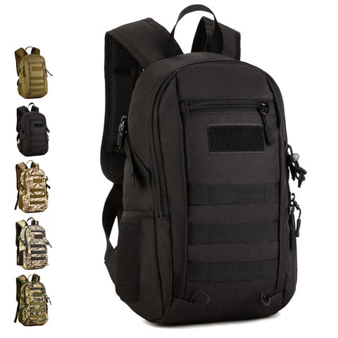 12l Mini Outdoor Travel Sports Backpack Men Women Camping Hiking Rucksack Military Fans Multi-use Tactical Bag Backpack S429