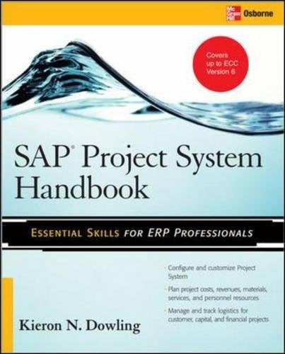 Sap Project System Handbook (Essential Skills (Mcgraw Hill))