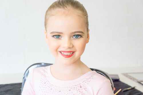 How to do Ballet Stage Make-Up on your little dancer