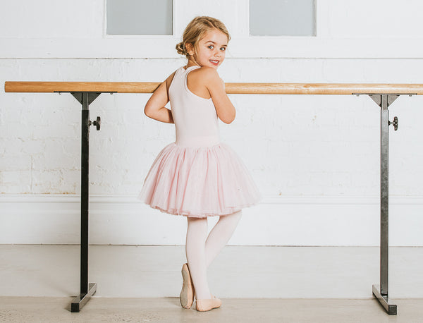 Flo Dancewear Nervous at the Ballet Barre