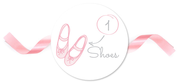 My First Ballet Outfit Step 1 Shoes