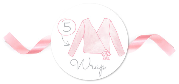 Flo Dancewear My First Ballet Outfit Step 5 Warm Layer