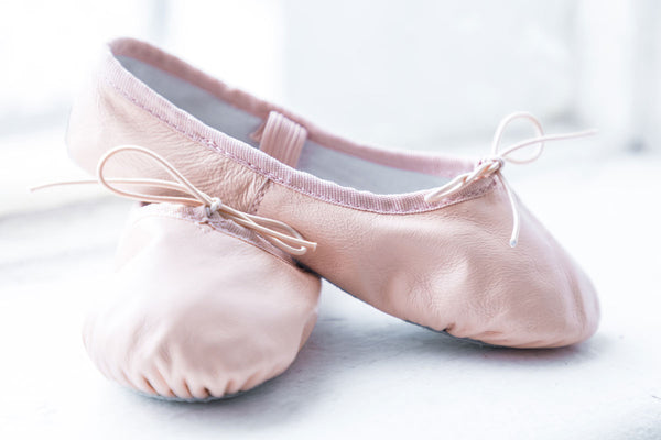 Flo Dancewear Leather Ballet Shoes