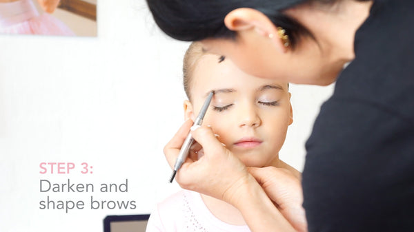 Ballet Stage Make-Up Brows