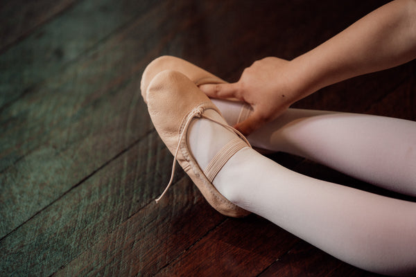 Choosing the right size ballet shoe