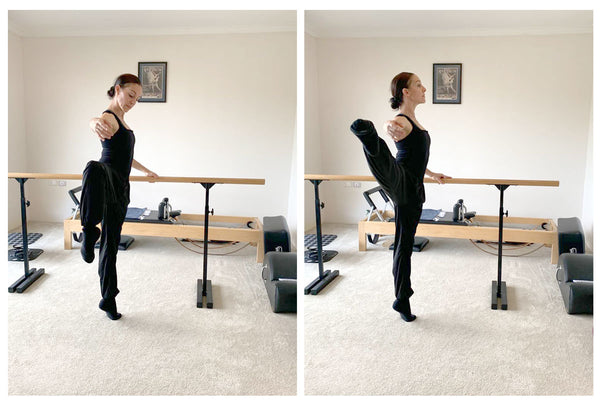 Leanne Stojmenov Classical Ballet Barre Classes