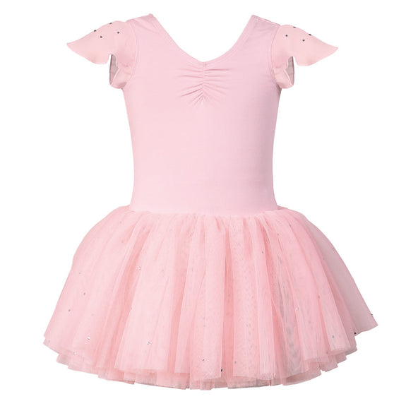 Kids Ballet Concert Tutu Dress in Pink