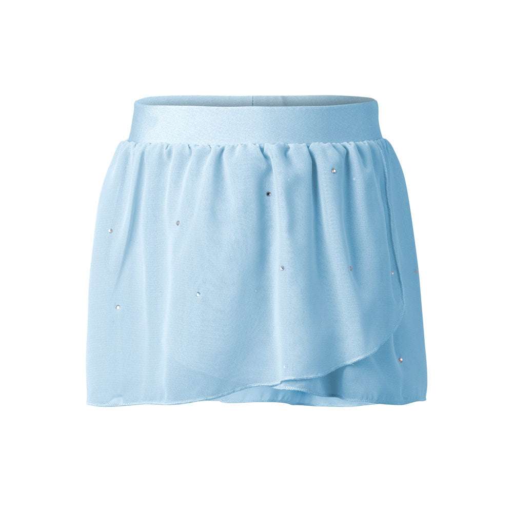 Kids Ballet Class Practice Skirt in Blue