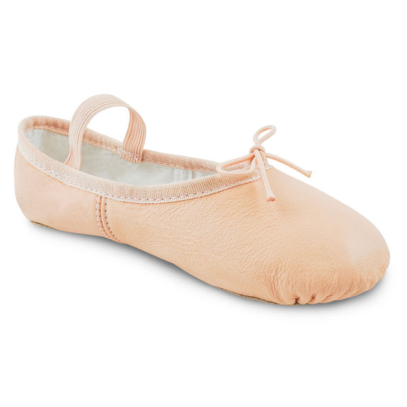 Split Sole Leather Ballet Shoe