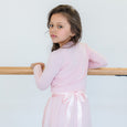 Flo Dancewear Girls Ballet Crossover in Light pink