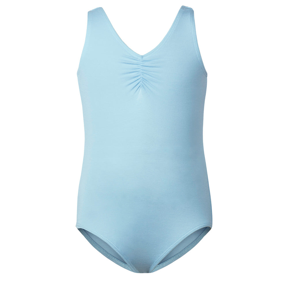 Kids Ballet Basic Tank Leotard in Blue