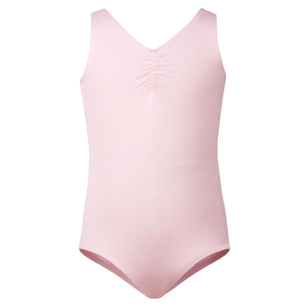 Flo Dancewear Girls Ballet Tank Leotard in Pink