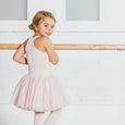 Flo Dancewear Girls Tutu Dress in Pink with Racerback Design