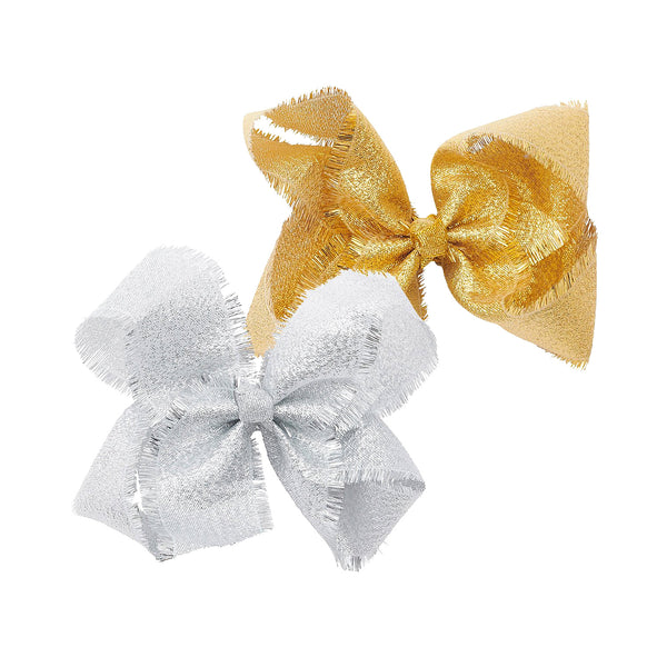 Pixies Bows Dream Tinsel Silver and Gold Set