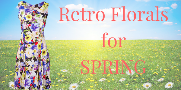 Spring Into Spring with Feminine Retro Florals